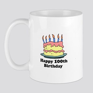 Happy 100th Birthday Mug