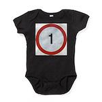 1 Baby Bodysuit
