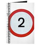 Speed sign - 2 Journal