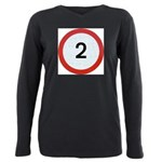 Speed sign - 2 Plus Size Long Sleeve Tee