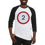 Speed sign - 2 Baseball Jersey