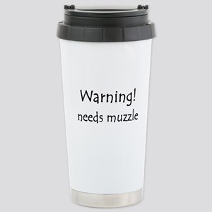 Warning! needs muzzle Mugs