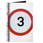 Speed sign 3 Journal