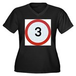 Speed sign 3 Plus Size T-Shirt