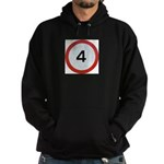 Speed sign 4 Hoody