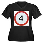 Speed sign 4 Plus Size T-Shirt