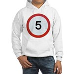 Speed sign 5 Jumper Hoody