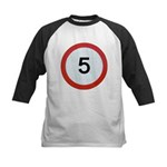 Speed sign 5 Baseball Jersey