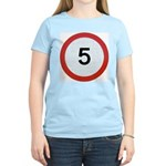 Speed sign 5 T-Shirt