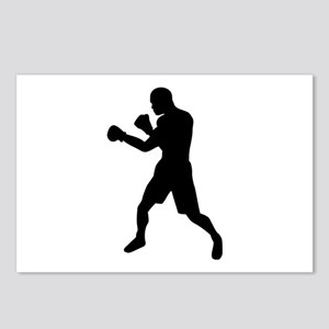 Boxing fighter Postcards (Package of 8)