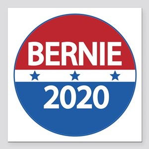 "Bernie 2020 Square Car Magnet 3"" x 3"""