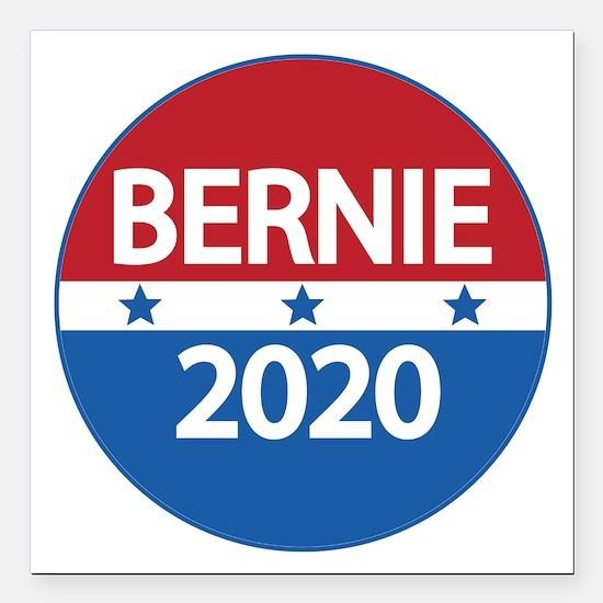 "Bernie 2020 Square Car Magnet 3"" x 3"""