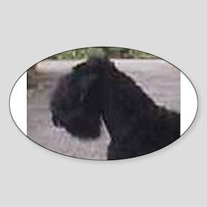 black russian terrier Sticker