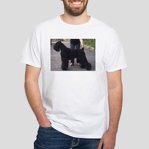 black russian terrier full T-Shirt