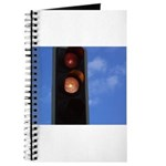 Red and amber traffic light Journal