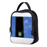 Green traffic light Neoprene Lunch Bag