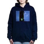 Green traffic light Women's Hooded Sweatshirt