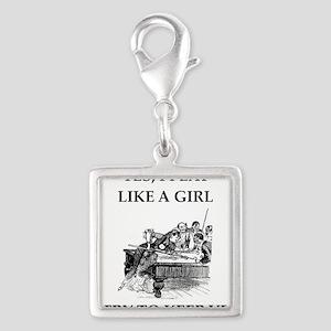 play ike a girl Charms