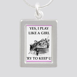play ike a girl Necklaces