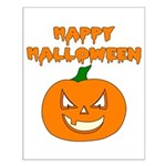 Halloween Pumpkin Small Poster