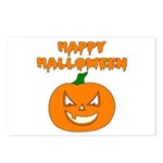 Halloween Pumpkin Postcards (Package of 8)