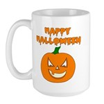 Halloween Pumpkin Large Mug