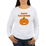 Halloween Pumpkin Women's Long Sleeve T-Shirt