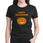 Halloween Pumpkin Women's Dark T-Shirt