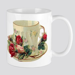 Victorian Tea Cup-Roses - Small Mugs