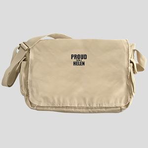 Proud to be HELEN Messenger Bag