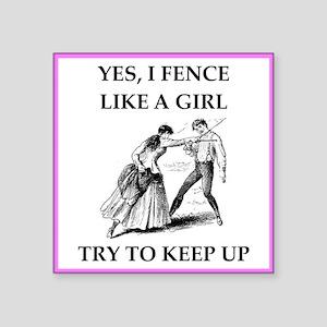 play ike a girl Sticker