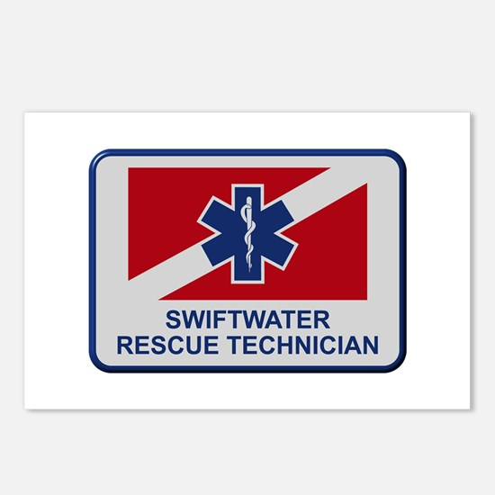 Cute Water rescue Postcards (Package of 8)