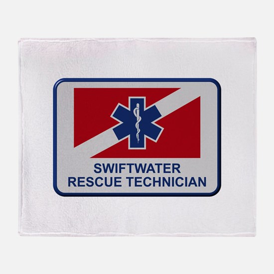 Cute Water rescue Throw Blanket