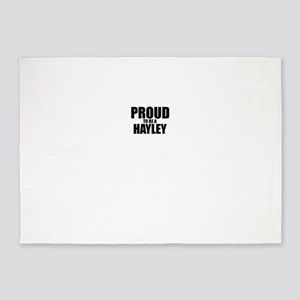 Proud to be HAYLEY 5'x7'Area Rug