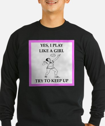 play ike a girl Long Sleeve T-Shirt