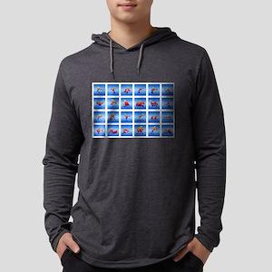 Multi-Sports Panel Long Sleeve T-Shirt
