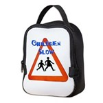 Children slow Neoprene Lunch Bag
