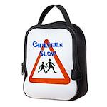 Children slow Neoprene Lunch Bag