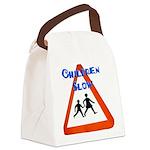 Children slow Canvas Lunch Bag