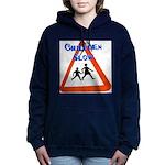 Children slow Women's Hooded Sweatshirt