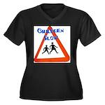 Children slow Plus Size T-Shirt