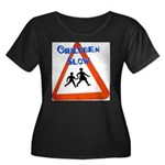 Children slow Plus Size T-Shirt