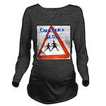 Children slow Long Sleeve Maternity T-Shirt