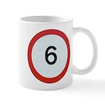 Speed sign 6 Mugs