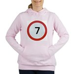 7 Women's Hooded Sweatshirt