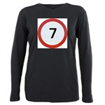 7 Plus Size Long Sleeve Tee