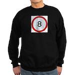 Speed sign 8 Jumper Sweater
