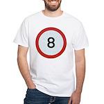 Speed sign 8 T-Shirt