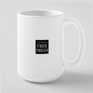 Free Press Black Mugs