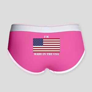 Im Made In The USA Women's Boy Brief